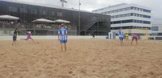 SUZUKI Swiss Beach Soccer League zu Gast in Zug