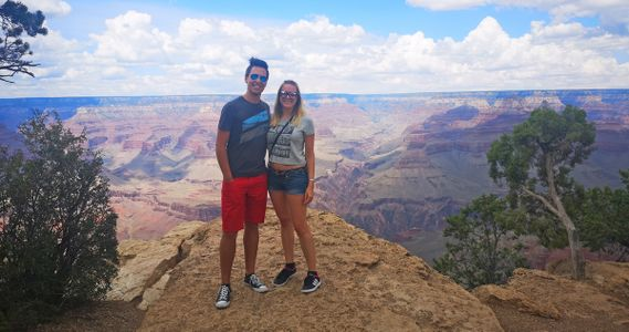 Chantal + Patrick_Grand Canyon - 1
